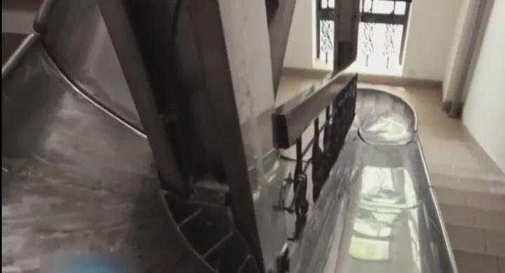 非标定制+不锈钢滑梯+滑滑梯