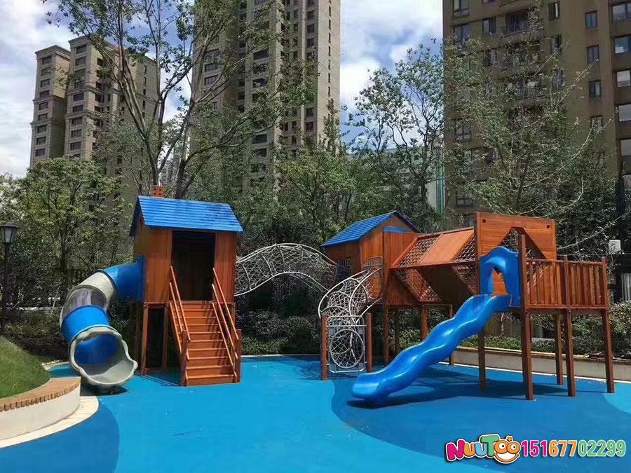 乐图非标游乐+幼儿组合滑梯+游乐场滑梯-(1)