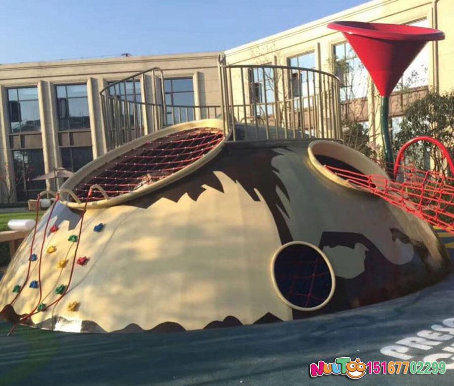 小王子乐园+非标游乐+星球组合滑梯+不锈钢滑滑梯 (8)
