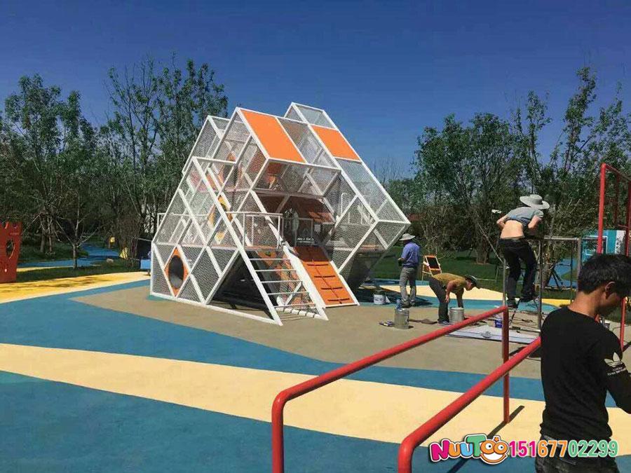 非標游樂+北京旭輝組合滑梯 +兒童樂園設備 (15).jpg