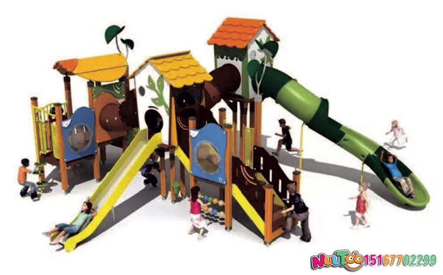 乐图非标游乐+组合滑梯+原木组合滑梯+游乐场-(3)