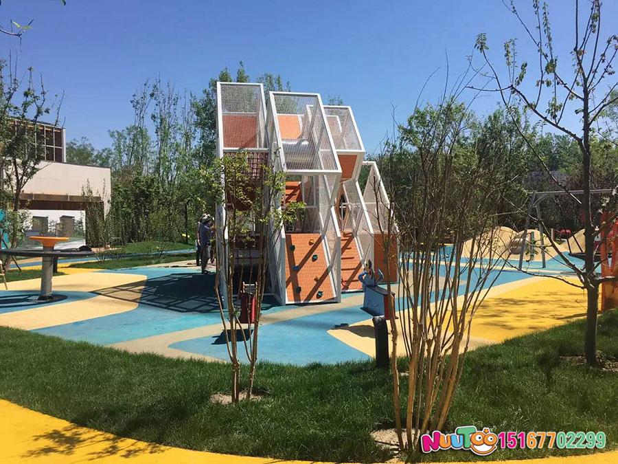 非标游乐+北京旭辉组合滑梯 +儿童乐园设备 (3)