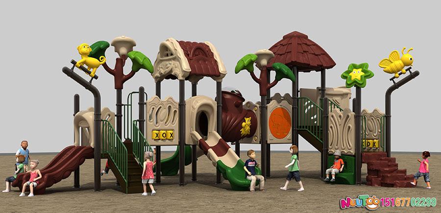 滑滑梯+组合滑梯+小博士+游乐设施+树屋 (1)