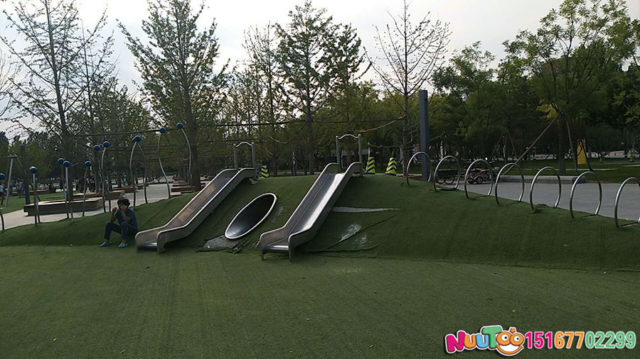 核桃乐园+非标游乐+组合滑梯+游乐设备-(21)