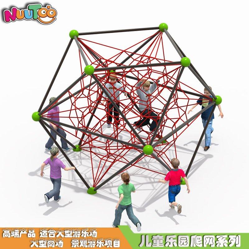 幼兒園戶外繩網攀爬_樂圖非標游樂
