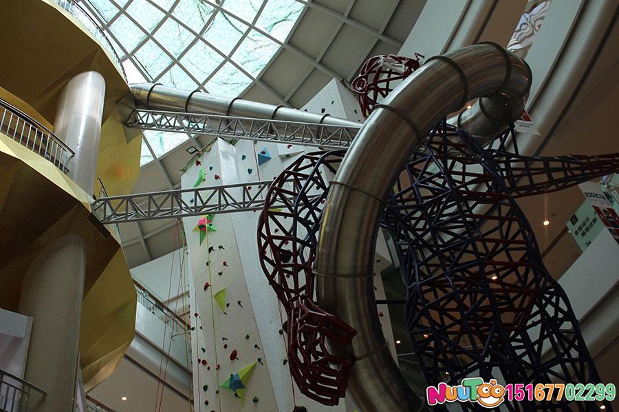 乐图非标游乐+不锈钢滑梯+台州银泰购物-(131)