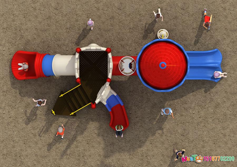 组合滑梯+儿童游乐设备+小博士+长城 (15)