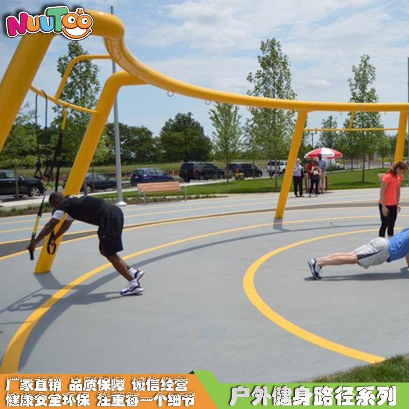太空漫步機戶外健身器材_樂圖非標游樂