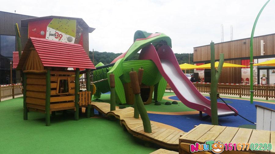 非標游樂+青蛙組合樂園+滑滑梯+兒童游樂設施 (5)