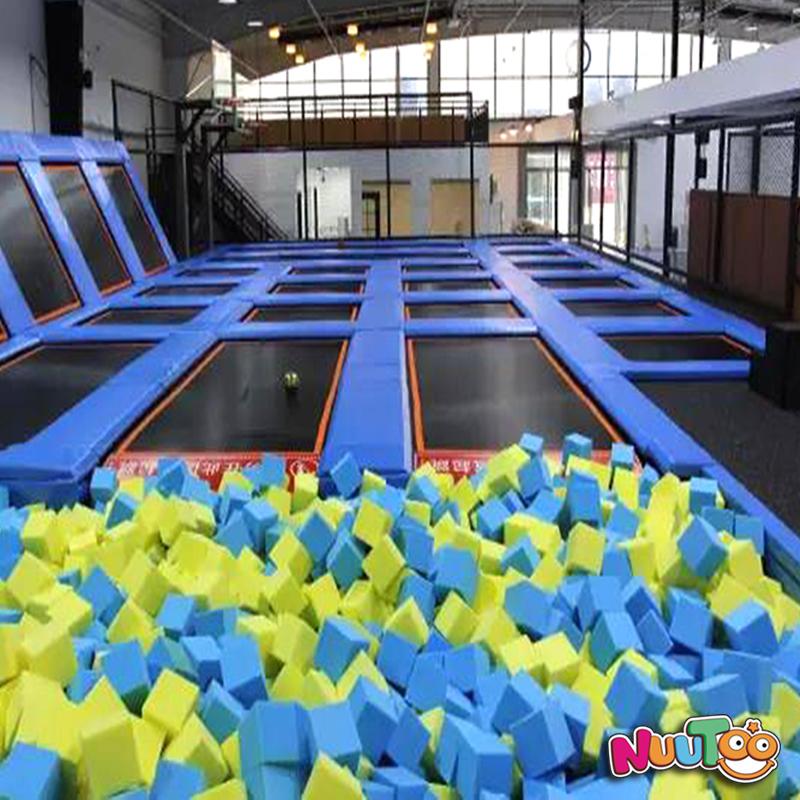 室內兒童樂園北京skyline室內競技蹦床樂園