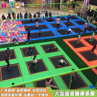 蹦床運動樂園 蹦床公園設備生產廠家LT-BC007
