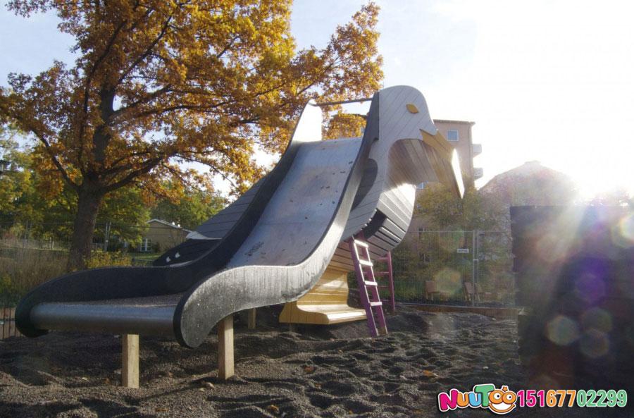 非标游乐+小鸟组合滑梯+不锈钢滑梯+滑滑梯 (7)