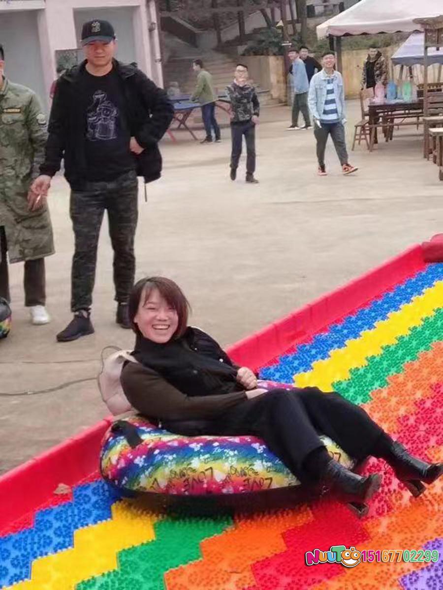 七彩滑道+七彩滑梯+旱雪滑梯+飞跃滑梯-(30)