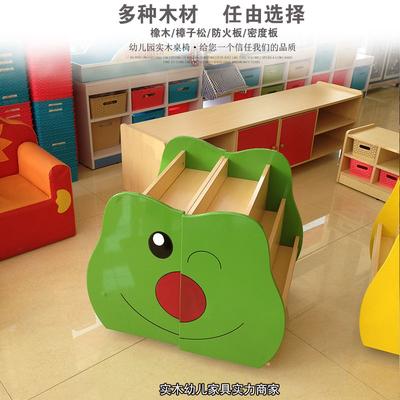 幼教家具實木收納柜 多功能無毒無味便利儲存柜